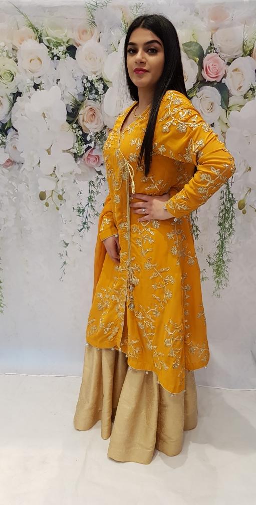 e7f8476948 Tuscany Angrakha Dress - Sarah Zaaraz London Fashion Designer   Pakistani Dress  Designer   Bridal Dresses